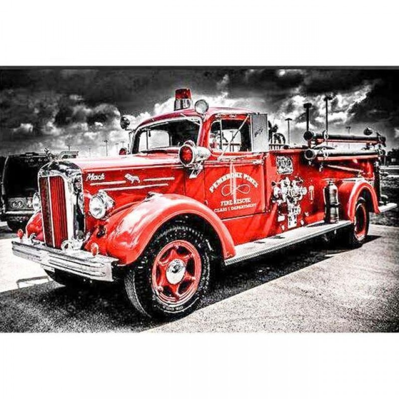 2022 Red Fire Truck ...