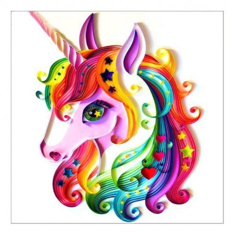 2021 Unicorn Diy 5d Diamond Painting Kits UK